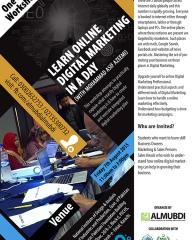 Learn Online Digital Marketing in a Day