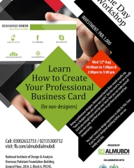 Learn How to Create Your Professional Business Card