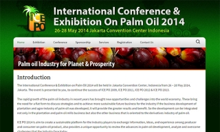 The International Conference & Exhibition on Palm Oil 2014
